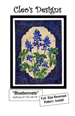 Blue Bonnet Cover