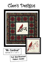 Mr. Cardinal Cover